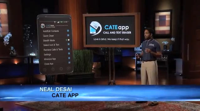 cate app cheaters mobile app from shark tank in the shark tank. Black Bedroom Furniture Sets. Home Design Ideas